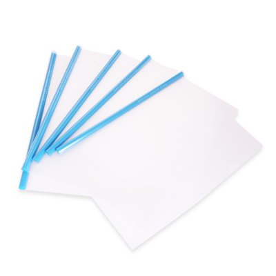 Deli 5530 5PCS A4 Report Cover Folder Paper ClampOther Supplies<br>Deli 5530 5PCS A4 Report Cover Folder Paper Clamp<br><br>Brand: Deli<br>Color: Blue<br>Material: PP, PVC<br>Model: 5530<br>Package Contents: 5 x A4 Rail Holder Paper Clamp<br>Package size (L x W x H): 35.00 x 24.00 x 2.50 cm / 13.78 x 9.45 x 0.98 inches<br>Package weight: 0.1950 kg<br>Product size (L x W x H): 31.00 x 23.00 x 1.00 cm / 12.2 x 9.06 x 0.39 inches<br>Product weight: 0.1800 kg