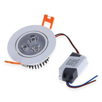 YouOKLight 240LM 3000K 3W 3 LEDs Down LightCeiling Lights<br>YouOKLight 240LM 3000K 3W 3 LEDs Down Light<br><br>Brand: YouOKLight<br>Is Batteries Included: No<br>Is Batteries Required: No<br>Is Bulbs Included: Yes<br>Light Source: LED Bulbs<br>Package Contents: 4 x Recessed Ceiling Light<br>Package Size(L x W x H): 20.00 x 20.00 x 15.00 cm / 7.87 x 7.87 x 5.91 inches<br>Package weight: 0.5200 kg<br>Power Source: AC<br>Product Size(L x W x H): 9.00 x 9.00 x 7.00 cm / 3.54 x 3.54 x 2.76 inches<br>Product weight: 0.5000 kg<br>Shape: Round<br>Type: Night Light, Atmosphere, Lamp<br>Wattage: 0-5W