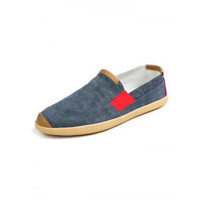 Patchwork Canvas ShoesCasual Shoes<br>Patchwork Canvas Shoes<br><br>Contents: 1 x Pair of Shoes<br>Materials: Canvas<br>Occasion: Casual<br>Package Size ( L x W x H ): 33.00 x 22.00 x 11.00 cm / 12.99 x 8.66 x 4.33 inches<br>Package Weights: 0.780kg<br>Product Size  ( L x W x H ): 33.00 x 22.00 x 11.00 cm / 12.99 x 8.66 x 4.33 inches<br>Seasons: Autumn,Spring,Summer<br>Style: Leisure<br>Type: Casual Shoes