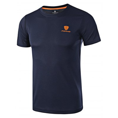 FANNAI FN15 Men Running T ShirtWeight Lifting Clothes<br>FANNAI FN15 Men Running T Shirt<br><br>Features: Breathable<br>Gender: Men<br>Material: Polyester<br>Package Content: 1 x T Shirt<br>Package size: 30.00 x 25.00 x 1.50 cm / 11.81 x 9.84 x 0.59 inches<br>Package weight: 0.2020 kg<br>Product size: 76.00 x 56.00 x 0.50 cm / 29.92 x 22.05 x 0.2 inches<br>Product weight: 0.1750 kg<br>Type: Short Sleeves