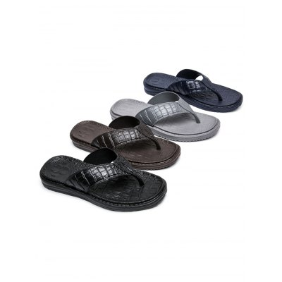 Stylish Men Skid Resistance Beach Flip FlopsMens Slippers<br>Stylish Men Skid Resistance Beach Flip Flops<br><br>Contents: 1 x Pair of Slippers<br>Materials: EVA<br>Occasion: Casual<br>Package Size ( L x W x H ): 32.00 x 19.50 x 12.00 cm / 12.6 x 7.68 x 4.72 inches<br>Package Weights: 0.430<br>Seasons: Summer<br>Style: Leisure, Fashion, Comfortable<br>Type: Slippers