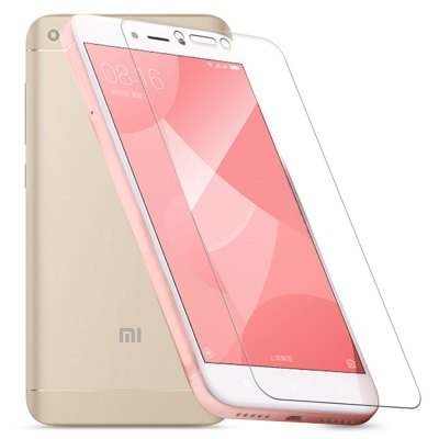 2pcs ASLING 2.5D Screen ProtectorScreen Protectors<br>2pcs ASLING 2.5D Screen Protector<br><br>Brand: ASLING<br>Compatible Model: Redmi 4X<br>Features: Ultra thin, High-definition, High Transparency, High sensitivity, Anti-oil, Anti scratch, Anti fingerprint<br>Mainly Compatible with: Xiaomi<br>Material: Tempered Glass<br>Package Contents: 2 x Screen Film, 2 x Dust Remover, 2 x Wet Wipes, 2 x Dry Wipes<br>Package size (L x W x H): 19.50 x 12.50 x 2.00 cm / 7.68 x 4.92 x 0.79 inches<br>Package weight: 0.0940 kg<br>Product weight: 0.0180 kg<br>Surface Hardness: 9H<br>Thickness: 0.26mm<br>Type: Screen Protector