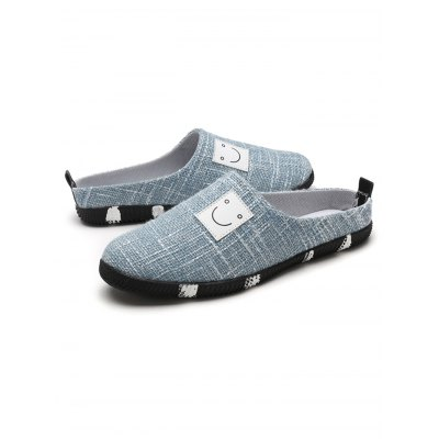 Summer Breathable Linen Men SlippersMens Slippers<br>Summer Breathable Linen Men Slippers<br><br>Contents: 1 x Pair of Slippers<br>Materials: Linen, Rubber<br>Occasion: Casual<br>Package Size ( L x W x H ): 31.00 x 18.50 x 11.00 cm / 12.2 x 7.28 x 4.33 inches<br>Package Weights: 0.580kg<br>Seasons: Autumn,Spring,Summer<br>Style: Leisure, Fashion, Comfortable<br>Type: Slippers