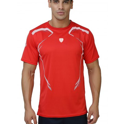 FANNAI FN04 Men Training T ShirtWeight Lifting Clothes<br>FANNAI FN04 Men Training T Shirt<br><br>Features: Breathable, High elasticity, Quick Dry<br>Gender: Men<br>Material: Polyester<br>Package Content: 1 x T Shirt<br>Package size: 30.00 x 25.00 x 1.50 cm / 11.81 x 9.84 x 0.59 inches<br>Package weight: 0.2000 kg<br>Product size: 76.00 x 57.00 x 0.50 cm / 29.92 x 22.44 x 0.2 inches<br>Product weight: 0.1750 kg<br>Types: Short Sleeves