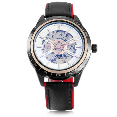 Forsining A2 Men Auto Mechanical WatchMens Watches<br>Forsining A2 Men Auto Mechanical Watch<br><br>Band material: Genuine Leather<br>Band size: 24.00 x 2.00 cm / 9.45 x 0.78 inches<br>Brand: Forsining<br>Case material: Alloy<br>Clasp type: Pin buckle<br>Dial size: 4.30 x 4.30 x 1.20 cm / 1.69 x 1.69 x 0.47 inches<br>Display type: Analog<br>Movement type: Automatic mechanical watch<br>Package Contents: 1 x Forsining A2 Men Automatic Mechanical Watch<br>Package size (L x W x H): 26.00 x 5.00 x 3.00 cm / 10.24 x 1.97 x 1.18 inches<br>Package weight: 0.1300 kg<br>Product size (L x W x H): 24.00 x 4.30 x 1.20 cm / 9.45 x 1.69 x 0.47 inches<br>Product weight: 0.1000 kg<br>Shape of the dial: Round<br>Watch style: Casual<br>Watches categories: Male table<br>Wearable length: 17.50 - 22.00 cm / 6.88 - 8.66 inches