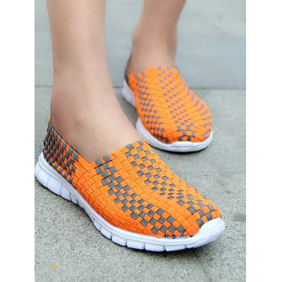 Outdoor Cycling Breathable Slip On Women Casual ShoesWomens Sneakers<br>Outdoor Cycling Breathable Slip On Women Casual Shoes<br><br>Contents: 1 x Pair of Shoes<br>Materials: Mesh, POE<br>Occasion: Casual<br>Package Size ( L x W x H ): 31.00 x 18.50 x 11.00 cm / 12.2 x 7.28 x 4.33 inches<br>Package Weights: 0.480<br>Seasons: Autumn,Spring,Summer<br>Style: Leisure, Fashion, Comfortable<br>Type: Casual Shoes