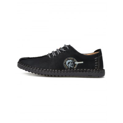 Lace Up Leather ShoesCasual Shoes<br>Lace Up Leather Shoes<br><br>Contents: 1 x Pair of Shoes<br>Materials: Artificial leather<br>Occasion: Casual<br>Package Size ( L x W x H ): 33.00 x 22.00 x 11.00 cm / 12.99 x 8.66 x 4.33 inches<br>Package Weights: 0.860kg<br>Seasons: Summer<br>Style: Leisure<br>Type: Casual Shoes