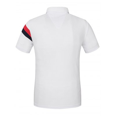 LUCKY SAILING Men Sports T ShirtMens Short Sleeve Tees<br>LUCKY SAILING Men Sports T Shirt<br><br>Fabric Type: Polyester<br>Package Content: 1 x Polo Shirt<br>Package size: 30.00 x 25.00 x 1.50 cm / 11.81 x 9.84 x 0.59 inches<br>Package weight: 0.2070 kg<br>Product size: 79.00 x 59.00 x 0.50 cm / 31.1 x 23.23 x 0.2 inches<br>Product weight: 0.1750 kg<br>Season: Summer, Spring, Autumn<br>Sleeve Length: Short Sleeves