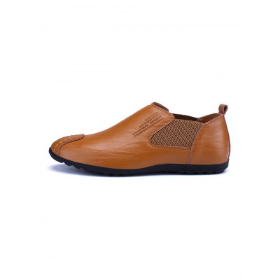 Comfortable Slip-on Men Casual Leather ShoesCasual Shoes<br>Comfortable Slip-on Men Casual Leather Shoes<br><br>Contents: 1 x Pair of Shoes<br>Materials: Leather<br>Occasion: Casual<br>Package Size ( L x W x H ): 34.00 x 23.00 x 12.00 cm / 13.39 x 9.06 x 4.72 inches<br>Package Weights: 0.760<br>Seasons: Autumn,Spring,Summer<br>Style: Leisure, Fashion, Comfortable<br>Type: Casual Shoes