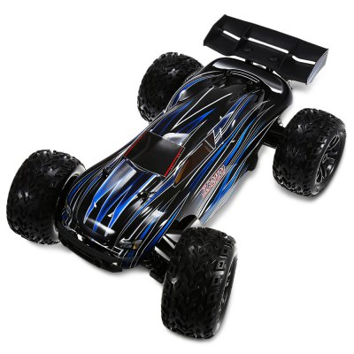 JLB Racing 21101 1:10 4WD RC Off-road Truck - RTRRC Cars<br>JLB Racing 21101 1:10 4WD RC Off-road Truck - RTR<br><br>Battery Information: 11.1V 4000mAh 30C LiPo<br>Brand: JLB<br>Car Power: Built-in rechargeable battery<br>Channel: 2-Channels<br>Charging Time: 4 hours<br>Drive Type: 4 WD<br>Electronic Speed Controller: HOBBYWING 120A waterproof ESC<br>Features: Radio Control<br>Functions: Head Up, Wheel flip, Turn left/right, Forward/backward, Climb<br>Material: Electronic Components, Metal, Plastic<br>Motor Type: Brushless Motor<br>Package Contents: 1 x RC Truck ( Battery Included ), 1 x Balance Charger, 1 x Charging Cable, 1 x Transmitter, 1 x English Manual<br>Package size (L x W x H): 56.50 x 25.00 x 38.00 cm / 22.24 x 9.84 x 14.96 inches<br>Package weight: 5.2350 kg<br>Product size (L x W x H): 50.50 x 36.00 x 20.30 cm / 19.88 x 14.17 x 7.99 inches<br>Product weight: 3.5250 kg<br>Proportion: 1:10<br>Racing Time: 20mins<br>Remote Control: 2.4GHz Wireless Remote Control<br>Speed: 80km/h ( maximum )<br>Transmitter Power: 4 x 1.5V AA (not included)<br>Type: Racing Truck
