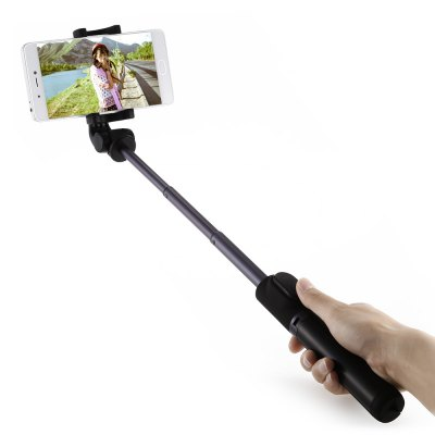 Xiaomi Selfie Stick Bluetooth Remote Shutter Tripod HolderStands &amp; Holders<br>Xiaomi Selfie Stick Bluetooth Remote Shutter Tripod Holder<br><br>Accessories type: Selfie Stick, Stand<br>Bluetooth Version: Bluetooth3.0<br>Brand: Xiaomi<br>Clip Holder Range: 56 - 89mm<br>Extended Length: 42cm<br>Features: with Tripod, with Bluetooth, Selfie Stick, with Remote Control<br>Folding Length: 19cm<br>Material: Aluminium Alloy<br>Package Contents: 1 x Selfie Stick<br>Package size: 22.00 x 6.00 x 7.00 cm / 8.66 x 2.36 x 2.76 inches<br>Package weight: 0.2000 kg<br>Product size: 19.00 x 4.50 x 5.00 cm / 7.48 x 1.77 x 1.97 inches<br>Product weight: 0.1550 kg