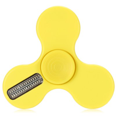 Intelligent App Control LED ADHD Fidget SpinnerFidget Spinners<br>Intelligent App Control LED ADHD Fidget Spinner<br><br>Color: Yellow<br>Features: LED Light<br>Frame material: ABS<br>Package Contents: 1 x Fidget Spinner, 1 x Micro USB Cable<br>Package size (L x W x H): 9.00 x 10.90 x 1.70 cm / 3.54 x 4.29 x 0.67 inches<br>Package weight: 0.0540 kg<br>Product size (L x W x H): 7.60 x 7.60 x 1.50 cm / 2.99 x 2.99 x 0.59 inches<br>Product weight: 0.0340 kg<br>Swing Numbers: Tri-Bar<br>Type: Triple Blade, Letter