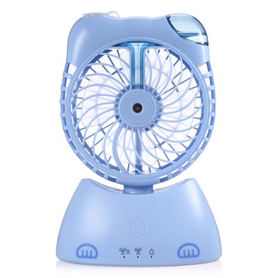 Fortune Cat Style Desktop Mini Misting FanOther Home Improvement<br>Fortune Cat Style Desktop Mini Misting Fan<br><br>Battery Capacity: 1200mAh<br>Features: Portable, Space-saving<br>Material: ABS<br>Package Contents: 1 x Mini Misting Fan, 1 x Water Bottle, 1 x USB Cable, 1 x Chinese / English User Manual<br>Package size (L x W x H): 22.50 x 16.20 x 8.50 cm / 8.86 x 6.38 x 3.35 inches<br>Package weight: 0.3820 kg<br>Product size (L x W x H): 19.00 x 12.80 x 7.00 cm / 7.48 x 5.04 x 2.76 inches<br>Product weight: 0.2360 kg<br>Type: Mini Fans, Cooling Fans<br>Voltage: DC 5V<br>Wattage: 5W