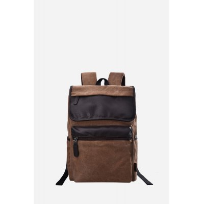 Douguyan 15.6 inch BackpackBackpacks<br>Douguyan 15.6 inch Backpack<br><br>Brand: Douguyan<br>Color: Black,Brown<br>Material: Canvas, PU<br>Package Size(L x W x H): 34.00 x 10.00 x 35.00 cm / 13.39 x 3.94 x 13.78 inches<br>Package weight: 0.960 kg<br>Packing List: 1 x Douguyan Backpack<br>Product Size(L x W x H): 33.00 x 13.00 x 45.00 cm / 12.99 x 5.12 x 17.72 inches<br>Product weight: 0.890 kg<br>Style: Casual