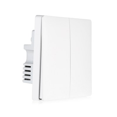 Xiaomi Aqara Light Control Smart SwitchAccess Control<br>Xiaomi Aqara Light Control Smart Switch<br><br>Brand: Xiaomi<br>Color: Milk White<br>Material: Plastic<br>Model: Aqara<br>Package Contents: 1 x Xiaomi Aqara Smart Light Control Double Key Zero Line Version, 2 x Screw<br>Package size (L x W x H): 10.00 x 10.00 x 5.50 cm / 3.94 x 3.94 x 2.17 inches<br>Package weight: 0.2000 kg<br>Product size (L x W x H): 8.50 x 8.50 x 4.20 cm / 3.35 x 3.35 x 1.65 inches<br>Product weight: 0.1330 kg