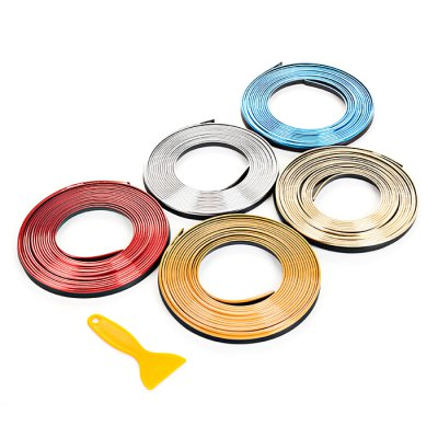 Inside Car Decorative StripCar Ornaments &amp; Pendant<br>Inside Car Decorative Strip<br><br>Color: Red<br>Material: PVC<br>Package Contents: 1 x 5M Inside Car Decorative Strip<br>Package size (L x W x H): 20.00 x 20.00 x 1.00 cm / 7.87 x 7.87 x 0.39 inches<br>Package weight: 0.1100 kg<br>Product size (L x W x H): 500.00 x 0.30 x 0.50 cm / 196.85 x 0.12 x 0.2 inches<br>Product weight: 0.1000 kg