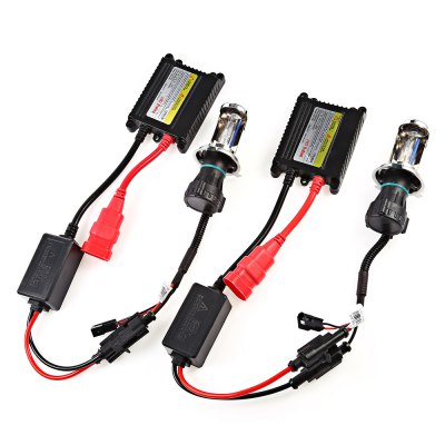 H4 Xenon Car Headlamp A2 HID BallastCar Lights<br>H4 Xenon Car Headlamp A2 HID Ballast<br><br>Adaptable automobile mode: Universal<br>Color temperatures: 5000K<br>Connector: H4<br>Emitting color: White<br>Lumens: 2800 - 3100LM<br>Package Contents: 2 x Head Lamp ( with 44cm cable ), 2 x Ballast, 1 x Installation Cable ( 144cm ), 6 x Screw, 6 x Nut, 2 x Metal Plate, 1 x English User Manual<br>Package size (L x W x H): 22.20 x 17.50 x 7.00 cm / 8.74 x 6.89 x 2.76 inches<br>Package weight: 0.7680 kg<br>Power: 55W<br>Type: Head Lamp<br>Voltage: 12V/DC
