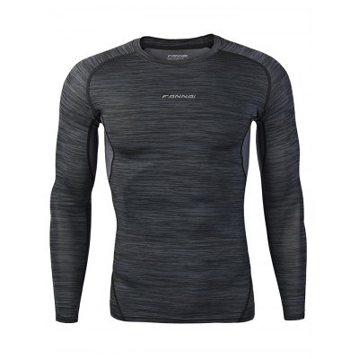 FANNAI FN105C Men T ShirtMens Short Sleeve Tees<br>FANNAI FN105C Men T Shirt<br><br>Fabric Type: Polyester<br>Package Content: 1 x T Shirt<br>Package size: 30.00 x 25.00 x 1.50 cm / 11.81 x 9.84 x 0.59 inches<br>Package weight: 0.2080 kg<br>Product size: 71.00 x 49.00 x 0.50 cm / 27.95 x 19.29 x 0.2 inches<br>Product weight: 0.1800 kg<br>Season: Summer, Spring, Autumn<br>Sleeve Length: Long Sleeves