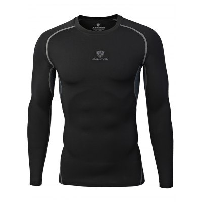 FANNAI FN18C Men Training T ShirtWeight Lifting Clothes<br>FANNAI FN18C Men Training T Shirt<br><br>Features: Breathable, High elasticity, Quick Dry<br>Gender: Men<br>Material: Polyester<br>Package Content: 1 x T Shirt<br>Package size: 30.00 x 25.00 x 1.50 cm / 11.81 x 9.84 x 0.59 inches<br>Package weight: 0.2070 kg<br>Product size: 77.00 x 49.00 x 0.50 cm / 30.31 x 19.29 x 0.2 inches<br>Product weight: 0.1800 kg<br>Types: Long Sleeves