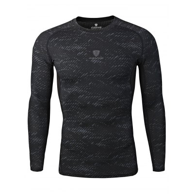 FANNAI FN17C Men Training T ShirtWeight Lifting Clothes<br>FANNAI FN17C Men Training T Shirt<br><br>Features: Breathable, High elasticity, Quick Dry<br>Gender: Men<br>Material: Polyester<br>Package Content: 1 x T Shirt<br>Package size: 30.00 x 25.00 x 1.50 cm / 11.81 x 9.84 x 0.59 inches<br>Package weight: 0.2070 kg<br>Product size: 77.00 x 49.00 x 0.50 cm / 30.31 x 19.29 x 0.2 inches<br>Product weight: 0.1800 kg<br>Types: Long Sleeves