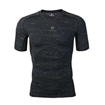 FANNAI FN16 Men Training T ShirtWeight Lifting Clothes<br>FANNAI FN16 Men Training T Shirt<br><br>Features: Breathable, High elasticity, Quick Dry<br>Gender: Men<br>Material: Polyester<br>Package Content: 1 x T Shirt<br>Package size: 30.00 x 25.00 x 1.50 cm / 11.81 x 9.84 x 0.59 inches<br>Package weight: 0.1970 kg<br>Product size: 77.00 x 49.00 x 0.50 cm / 30.31 x 19.29 x 0.2 inches<br>Product weight: 0.1700 kg<br>Types: Short Sleeves
