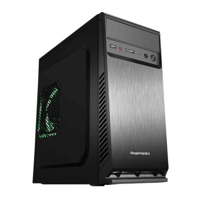 GETWORTH T12 Computer TowerDIY PC<br>GETWORTH T12 Computer Tower<br><br>Audio Interface: 2 Jack ( Mic-in,  Line-out )<br>Audio Jack: 3 Jack ( Line in, Line out, Mic )<br>Back USB Port: USB 2.0 x 4,USB 3.0 x 2<br>Brand: GETWORTH<br>Caching: 3MB<br>CD Driver Specification: DRW-24D5MT<br>CD Driver Type: DVDRW<br>Computer Tower: 1<br>Core: Dual Core<br>CPU: Intel Core i3 7100<br>CPU Brand: Intel<br>CPU Main Frequency: 3.9GHz<br>CPU Series: Intel Core<br>English Manual : 1<br>Front USB Port: USB 2.0 x 2<br>Graphics Chipset: Intel HD Graphics 630<br>Graphics Type: Integrated Graphics<br>Hard Disk Capacity: 1TB HDD<br>Hard Disk Interface Type: SATA 3.0<br>Hard Disk Type: Seagate<br>Mainboard: ASUS H110M-K<br>Model: T12<br>OS: DOS<br>Package size: 40.00 x 21.00 x 39.00 cm / 15.75 x 8.27 x 15.35 inches<br>Package weight: 8.0000 kg<br>Power (W): 300W, 220V<br>Power Cable: 1<br>Power Consumption: 51W<br>Process Technology: 14nm<br>Product size: 34.90 x 18.10 x 35.30 cm / 13.74 x 7.13 x 13.9 inches<br>Product weight: 7.0000 kg<br>PS/2 Port: 2?Mouse, Keyboard?<br>RAM: 4GB RAM<br>RAM Type: DDR4<br>RJ45 connector: Yes<br>Rotational Speed: 7200R/M<br>Screwdriver: 1<br>Threading: 4<br>Video Interface: DVI,VGA