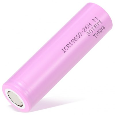 ICR18650 - 26HM Rechargeable Lithium-ion Battery