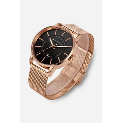 MINIFOCUS MF0034G Male Quartz Watch Steel Net Band WristwatchMens Watches<br>MINIFOCUS MF0034G Male Quartz Watch Steel Net Band Wristwatch<br><br>Band material: Steel<br>Band size: 22.50 x 2.20 cm / 8.86 x 0.86 inches<br>Brand: MINI FOCUS<br>Case material: Alloy<br>Clasp type: Hook buckle<br>Dial size: 4.40 x 4.40 x 1.00 cm / 1.73 x 1.73 x 0.39 inches<br>Display type: Analog<br>Movement type: Quartz watch<br>Package Contents: 1 x MINIFOCUS MF0034G Quartz Watch<br>Package size (L x W x H): 24.00 x 6.00 x 2.00 cm / 9.45 x 2.36 x 0.79 inches<br>Package weight: 0.1100 kg<br>Product size (L x W x H): 22.50 x 4.40 x 1.00 cm / 8.86 x 1.73 x 0.39 inches<br>Product weight: 0.0820 kg<br>Shape of the dial: Round<br>Watch style: Business<br>Watches categories: Male table<br>Water resistance : Life water resistant