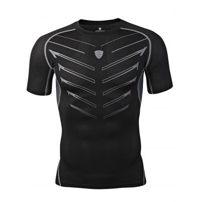 FANNAI FN13 Men Training T ShirtWeight Lifting Clothes<br>FANNAI FN13 Men Training T Shirt<br><br>Features: Breathable, High elasticity, Quick Dry<br>Gender: Men<br>Material: Polyester<br>Package Content: 1 x T Shirt<br>Package size: 30.00 x 25.00 x 1.50 cm / 11.81 x 9.84 x 0.59 inches<br>Package weight: 0.1970 kg<br>Product size: 77.00 x 49.00 x 0.50 cm / 30.31 x 19.29 x 0.2 inches<br>Product weight: 0.1700 kg<br>Types: Short Sleeves