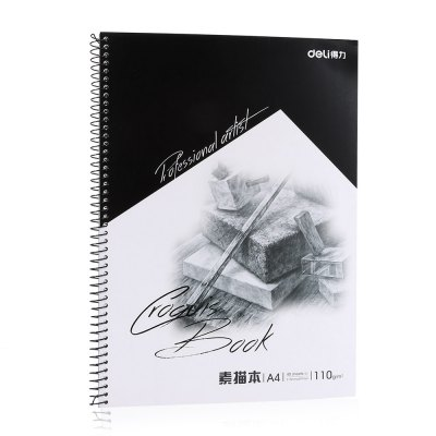 Deli 7698 Sketch Book for Painting