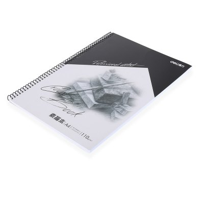 Deli 7698 Sketch Book for PaintingNotebooks &amp; Pads<br>Deli 7698 Sketch Book for Painting<br><br>Brand: Deli<br>Material: Paper<br>Package Contents: 1 x Deli 7698 Sketch Book<br>Package size (L x W x H): 31.60 x 22.60 x 1.80 cm / 12.44 x 8.9 x 0.71 inches<br>Package weight: 0.3810 kg<br>Product size (L x W x H): 29.60 x 21.60 x 0.80 cm / 11.65 x 8.5 x 0.31 inches<br>Product weight: 0.3590 kg<br>Type: Others