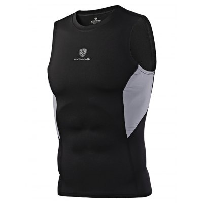 FANNAI FN20K Men Cycling VestWeight Lifting Clothes<br>FANNAI FN20K Men Cycling Vest<br><br>Features: Quick Dry, Breathable, High elasticity<br>Gender: Men<br>Material: Polyester<br>Package Content: 1 x Vest<br>Package size: 30.00 x 25.00 x 1.20 cm / 11.81 x 9.84 x 0.47 inches<br>Package weight: 0.1920 kg<br>Product size: 69.00 x 47.00 x 0.50 cm / 27.17 x 18.5 x 0.2 inches<br>Product weight: 0.1650 kg<br>Type: Tanks