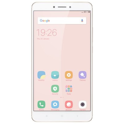 Xiaomi Mi Max 2 4G PhabletCell phones<br>Xiaomi Mi Max 2 4G Phablet<br><br>2G: GSM B2/B3/B5/B8<br>3G: WCDMA B1/B2/B5/B8<br>4G: FDD-LTE B1/B3/B5/B7/B8<br>Additional Features: Bluetooth, Calculator, Browser, Alarm, 4G, 3G, People, Calendar, Fingerprint recognition, Fingerprint Unlocking, GPS, MP3, MP4, Wi-Fi<br>Auto Focus: Yes<br>Back camera: with flash light and AF, 12.0MP<br>Battery Capacity (mAh): 5300mAh(typ) / 5200mAh(min)<br>Battery Type: Non-removable<br>Bluetooth Version: Bluetooth V4.2<br>Brand: Xiaomi<br>Camera type: Dual cameras (one front one back)<br>CDMA: CDMA EVDO?BC0,CDMA: BC0<br>Cell Phone: 1<br>Cores: Octa Core, 2.0GHz<br>CPU: Qualcomm Snapdragon 625 (MSM8953)<br>E-book format: TXT<br>External Memory: TF card up to 128GB (not included)<br>Flashlight: Yes<br>Front camera: 5.0MP<br>Games: Android APK<br>Google Play Store: Yes<br>GPU: Adreno 506<br>I/O Interface: 1 x Nano SIM Card Slot, Micophone, 1 x Micro SIM Card Slot, 3.5mm Audio Out Port, Micro USB Slot, Speaker, TF/Micro SD Card Slot<br>Language: Indonesian, Malay, German, English, Spanish, French, Italian, Lithuanian, Hungarian, Uzbek, Polish, Portuguese, Romanian, Slovak, Slovenian, Vietnamese, Turkish, Czech,  Croatian, Russian, Ukrainian,<br>Music format: MP3, WAV<br>Network type: GSM+CDMA+WCDMA+TD-SCDMA+FDD-LTE+TD-LTE<br>OS: Android 7.0<br>Package size: 30.00 x 25.00 x 4.80 cm / 11.81 x 9.84 x 1.89 inches<br>Package weight: 0.4495 kg<br>Picture format: PNG, BMP, GIF, JPEG<br>Power Adapter: 1<br>Product size: 17.41 x 8.87 x 0.76 cm / 6.85 x 3.49 x 0.3 inches<br>Product weight: 0.2110 kg<br>RAM: 4GB RAM<br>ROM: 64GB<br>Screen resolution: 1920 x 1080 (FHD)<br>Screen size: 6.44 inch<br>Screen type: IPS, Capacitive<br>Sensor: Accelerometer,Ambient Light Sensor,Gravity Sensor,Gyroscope,Hall Sensor,Infrared,Proximity Sensor<br>Service Provider: Unlocked<br>SIM Card Slot: Dual SIM, Dual Standby<br>SIM Card Type: Nano SIM Card, Micro SIM Card<br>SIM Needle: 1<br>TD-SCDMA: TD-SCDMA B34/B39<br>TDD/TD-LTE: TD-LTE B38/B39/B40/41<br>Touch Focus: Yes<br>Type: 4G Phablet<br>USB Cable: 1<br>Video format: H.265, WMV, MP4<br>Video recording: Yes<br>WIFI: 802.11a/b/g/n/ac wireless internet<br>Wireless Connectivity: LTE, GSM, GPS, Bluetooth, A-GPS, 4G, 3G, 2.4GHz/5GHz WiFi