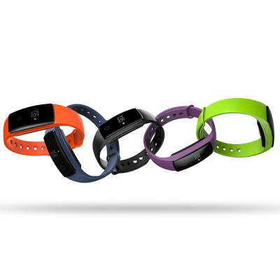 V05C Bluetooth Heart Rate SmartbandSmart Watches<br>V05C Bluetooth Heart Rate Smartband<br><br>Band material: Silicone<br>Band size: 25 x 1.56 cm<br>Battery  Capacity: 80mAh<br>Bluetooth calling: Callers name display,Phone call reminder<br>Bluetooth Version: Bluetooth 4.0<br>Built-in chip type: NRF51822<br>Case material: ABS<br>Charging Time: About 2hours<br>Compatability: Android 4.4 or above,  iOS 9.0 or above<br>Compatible OS: IOS, Android<br>Dial size: 4.11 x 2.05 x 1.25 cm<br>Groups of alarm: 3<br>Health tracker: Heart rate monitor,Pedometer,Sedentary reminder,Sleep monitor<br>IP rating: IP65<br>Messaging: Message reminder<br>Notification type: Wechat, WhatsApp, Twitter, Skype, Facebook<br>Operating mode: Touch Key<br>Other Function: Alarm, Calender<br>Package Contents: 1 x Smartband, 1 x English-Chinese Manual, 1 x Charging Cable<br>Package size (L x W x H): 15.00 x 10.00 x 3.80 cm / 5.91 x 3.94 x 1.5 inches<br>Package weight: 0.0840 kg<br>People: Female table,Male table<br>Product size (L x W x H): 25.00 x 2.05 x 1.25 cm / 9.84 x 0.81 x 0.49 inches<br>Product weight: 0.0200 kg<br>RAM: 16K<br>ROM: 256K<br>Screen: OLED<br>Screen resolution: 128 x 32<br>Shape of the dial: Rectangle<br>Standby time: 7 - 10 days<br>Type of battery: Polymer lithium-ion battery<br>Waterproof: Yes<br>Wearing diameter: 17.3 - 23.5 cm