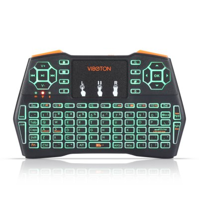 VIBOTON i8 Plus Wireless Keyboard Backlight Version