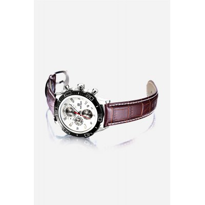 MEGIR 2019 Fashion Calendar Window Men Quartz WatchMens Watches<br>MEGIR 2019 Fashion Calendar Window Men Quartz Watch<br><br>Band material: Genuine Leather<br>Band size: 22 x 2.2 cm / 8.66 x 0.87 inches<br>Brand: MEGIR<br>Case material: Alloy<br>Clasp type: Pin buckle<br>Dial size: 4.4 x 4.4 x 1.4 cm / 1.73 x 1.73 x 0.55 inches<br>Display type: Analog<br>Movement type: Quartz watch<br>Package Contents: 1 x MEGIR 2019 Fashion Men Quartz Watch, 1 x Box<br>Package size (L x W x H): 12.00 x 6.00 x 7.50 cm / 4.72 x 2.36 x 2.95 inches<br>Package weight: 0.214 kg<br>Product size (L x W x H): 22.00 x 4.40 x 1.40 cm / 8.66 x 1.73 x 0.55 inches<br>Product weight: 0.084 kg<br>Shape of the dial: Round<br>Special features: Date, Working sub-dial<br>Watch color: Black, White, Blue, White + Brown, Black + Silver<br>Watch style: Fashion<br>Watches categories: Male table<br>Water resistance : Life water resistant