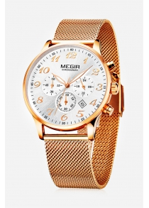 MEGIR 2022 Casual Men Quartz Watch