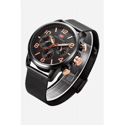 MINI FOCUS MF0001G Men Quartz WristwatchMens Watches<br>MINI FOCUS MF0001G Men Quartz Wristwatch<br><br>Band material: Stainless Steel<br>Band size: 23 x 2cm / 9.06 x 0.79 inches<br>Brand: MINI FOCUS<br>Case material: Alloy<br>Clasp type: Sheet folding clasp<br>Dial size: 4.5 x 4.5 x 1cm / 1.77 x 1.77 x 0.39 inches<br>Display type: Analog<br>Movement type: Quartz watch<br>Package Contents: 1 x Watch<br>Package size (L x W x H): 24.00 x 5.50 x 2.00 cm / 9.45 x 2.17 x 0.79 inches<br>Package weight: 0.1190 kg<br>Product size (L x W x H): 23.00 x 4.50 x 1.00 cm / 9.06 x 1.77 x 0.39 inches<br>Product weight: 0.0880 kg<br>Shape of the dial: Round<br>Special features: Luminous<br>Watch mirror: Mineral glass<br>Watch style: Business, Fashion<br>Watches categories: Male table<br>Water resistance : 30 meters