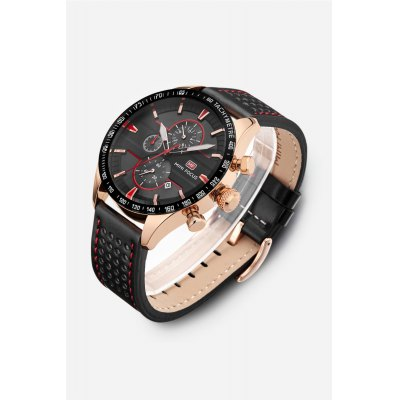 MINI FOCUS MF0002G Men Quartz WatchMens Watches<br>MINI FOCUS MF0002G Men Quartz Watch<br><br>Band material: Leather<br>Band size: 24.5 x 2.2cm / 9.65 x 0.87 inches<br>Brand: MINI FOCUS<br>Case material: Alloy<br>Clasp type: Pin buckle<br>Dial size: 4.6 x 4.6 x 1.2cm / 1.81 x 1.81 x 0.47 inches<br>Display type: Analog<br>Movement type: Quartz watch<br>Package Contents: 1 x Watch<br>Package size (L x W x H): 25.50 x 5.60 x 2.20 cm / 10.04 x 2.2 x 0.87 inches<br>Package weight: 0.1110 kg<br>Product size (L x W x H): 24.50 x 4.60 x 1.20 cm / 9.65 x 1.81 x 0.47 inches<br>Product weight: 0.0800 kg<br>Shape of the dial: Round<br>Special features: Date, Luminous, Decorative sub-dial<br>Watch mirror: Mineral glass<br>Watch style: Business, Fashion<br>Watches categories: Male table<br>Water resistance : 30 meters<br>Wearable length: 18 - 21cm / 7.09 - 8.27 inches