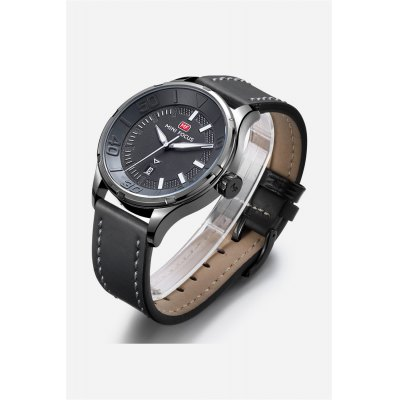 MINI FOCUS MF0008G Male Quartz WatchMens Watches<br>MINI FOCUS MF0008G Male Quartz Watch<br><br>Band material: Leather<br>Band size: 22 x 2.2cm / 8.66 x 0.87 inches<br>Brand: MINI FOCUS<br>Case material: Alloy<br>Clasp type: Pin buckle<br>Dial size: 4 x 4 x 1.2cm / 1.57 x 1.57 x 0.47 inches<br>Display type: Analog<br>Movement type: Quartz watch<br>Package Contents: 1 x Watch<br>Package size (L x W x H): 23.00 x 5.00 x 2.20 cm / 9.06 x 1.97 x 0.87 inches<br>Package weight: 0.0960 kg<br>Product size (L x W x H): 22.00 x 4.00 x 1.20 cm / 8.66 x 1.57 x 0.47 inches<br>Product weight: 0.0650 kg<br>Shape of the dial: Round<br>Special features: Date, Luminous<br>Watch mirror: Mineral glass<br>Watch style: Business, Fashion<br>Watches categories: Male table<br>Water resistance : 30 meters<br>Wearable length: 18 - 21cm / 7.09 - 8.27 inches