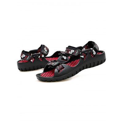 Men Beach Massage SandalsMens Sandals<br>Men Beach Massage Sandals<br><br>Contents: 1 x Pair of Shoes<br>Materials: Denim<br>Occasion: Casual<br>Package Size ( L x W x H ): 31.00 x 21.00 x 11.00 cm / 12.2 x 8.27 x 4.33 inches<br>Package Weights: 0.490kg<br>Product Size  ( L x W x H ): 29.00 x 9.50 x 8.50 cm / 11.42 x 3.74 x 3.35 inches<br>Seasons: Summer<br>Style: Comfortable<br>Type: Sandals
