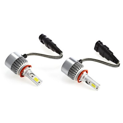 H11 36W LED HeadlightCar Lights<br>H11 36W LED Headlight<br><br>Apply lamp position : External Lights<br>Apply To Car Brand: Universal<br>Color temperatures: 6500K<br>Connector: H11<br>Emitting color: White<br>Lumens: 3800LM<br>Material: Aluminum Alloy<br>Package Contents: 2 x Light<br>Package size (L x W x H): 18.50 x 12.50 x 5.00 cm / 7.28 x 4.92 x 1.97 inches<br>Package weight: 0.2680 kg<br>Power: 36W<br>Product size (L x W x H): 8.00 x 3.50 x 3.50 cm / 3.15 x 1.38 x 1.38 inches<br>Product weight: 0.1350 kg<br>Type: Car LED<br>Type of lamp-house : LED<br>Voltage: 9 - 32V