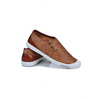 Fashion PU Slip-on Men Casual ShoesCasual Shoes<br>Fashion PU Slip-on Men Casual Shoes<br><br>Contents: 1 x Pair of Shoes<br>Materials: PU<br>Occasion: Casual<br>Package Size ( L x W x H ): 32.00 x 19.50 x 12.00 cm / 12.6 x 7.68 x 4.72 inches<br>Package Weights: 0.58<br>Seasons: Autumn,Spring<br>Style: Leisure, Fashion, Comfortable<br>Type: Casual Shoes