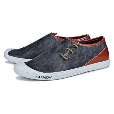 Fashion PU Slip-on Men Casual Shoes