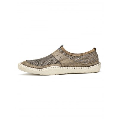 Men Outdoor Casual ShoesCasual Shoes<br>Men Outdoor Casual Shoes<br><br>Contents: 1 x Pair of Shoes<br>Materials: Mesh<br>Occasion: Casual<br>Package Size ( L x W x H ): 33.00 x 22.00 x 11.00 cm / 12.99 x 8.66 x 4.33 inches<br>Package Weights: 0.780kg<br>Seasons: Summer<br>Style: Comfortable<br>Type: Casual Shoes