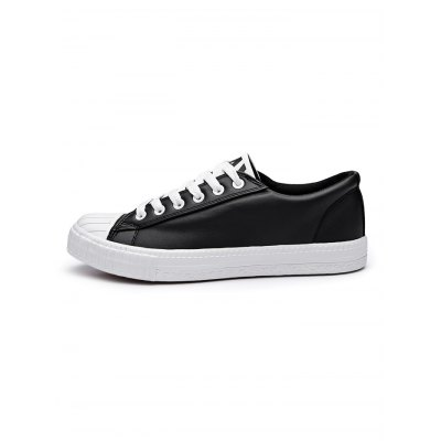 Men Shell Toe Canvas ShoesCasual Shoes<br>Men Shell Toe Canvas Shoes<br><br>Contents: 1 x Pair of Shoes<br>Materials: PU<br>Occasion: Casual<br>Package Size ( L x W x H ): 33.00 x 22.00 x 11.00 cm / 12.99 x 8.66 x 4.33 inches<br>Package Weights: 0.780kg<br>Seasons: Autumn,Spring,Summer<br>Style: Leisure<br>Type: Casual Shoes
