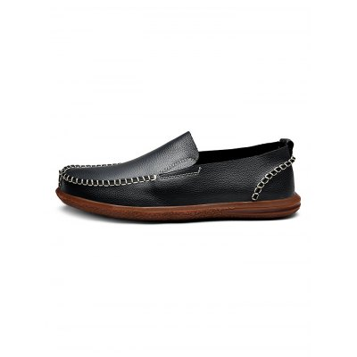 Men Slip On Leather ShoesCasual Shoes<br>Men Slip On Leather Shoes<br><br>Contents: 1 x Pair of Shoes<br>Materials: Artificial leather<br>Occasion: Casual<br>Package Size ( L x W x H ): 33.00 x 22.00 x 11.00 cm / 12.99 x 8.66 x 4.33 inches<br>Package Weights: 0.930kg<br>Seasons: Autumn,Spring,Summer<br>Style: Leisure<br>Type: Casual Shoes