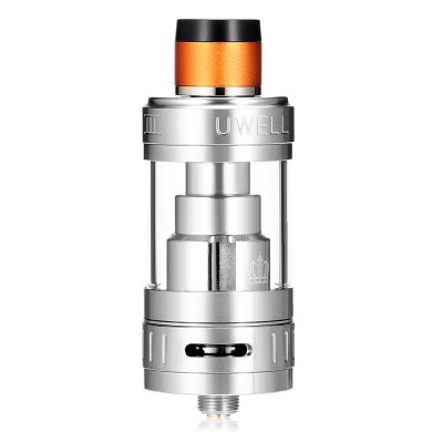 UWELL Crown 3 Sub Ohm Tank ClearomizerOther Atomizers<br>UWELL Crown 3 Sub Ohm Tank Clearomizer<br><br>Brand: Uwell<br>Material: Stainless Steel, Quartz Glass<br>Model: Crown 3<br>Package Contents: 1 x UWELL Crown 3 Sub Ohm Tank Atomizer ( Pre-installed 0.25 ohm ), 1 x 0.5 ohm Extra Coil, 1 x Extra Quartz Glass, 1 x Pack of Extra Rubber O-rings, 1 x Crown III Key, 1 x Drip Tip Cover<br>Package size (L x W x H): 9.50 x 6.50 x 3.30 cm / 3.74 x 2.56 x 1.3 inches<br>Package weight: 0.1570 kg<br>Product size (L x W x H): 6.30 x 2.30 x 2.30 cm / 2.48 x 0.91 x 0.91 inches<br>Product weight: 0.0610 kg<br>Resistance : 0.25 ohm / 0.5 ohm<br>Tank Capacity: 5.0ml<br>Thread: 510<br>Type: Tank Atomizer, Clearomizer