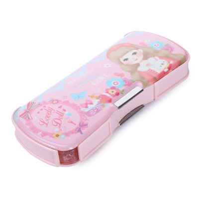 Deli 95608 Pencil Box Pen CaseDesk Organizers<br>Deli 95608 Pencil Box Pen Case<br><br>Brand: Deli<br>Package Contents: 1 x Deli 95608 Pencil Box<br>Package size (L x W x H): 28.70 x 10.60 x 4.20 cm / 11.3 x 4.17 x 1.65 inches<br>Package weight: 0.2820 kg<br>Pen Lead Diameter: Others<br>Pen Type: Other<br>Product size (L x W x H): 23.80 x 9.60 x 3.20 cm / 9.37 x 3.78 x 1.26 inches<br>Product weight: 0.2590 kg