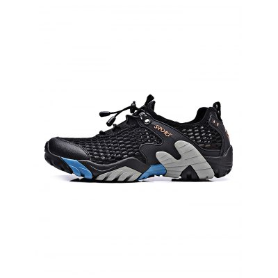 Breathable Mesh Men Outdoor Walking SneakersHiking Shoes<br>Breathable Mesh Men Outdoor Walking Sneakers<br><br>Closure Type: Lace-Up, Lace-Up<br>Features: Shock-absorbing, Anti-slip, Breathable<br>Highlights: Breathable, Breathable<br>Package Contents: 1 x Pair of Shoes, 1 x Pair of Shoes<br>Package size: 33.00 x 22.00 x 11.00 cm / 12.99 x 8.66 x 4.33 inches, 33.00 x 22.00 x 11.00 cm / 12.99 x 8.66 x 4.33 inches<br>Package weight: 1.0530 kg, 1.0530 kg<br>Product weight: 0.9000 kg, 0.9000 kg<br>Season: Summer, Spring, Autumn, Summer, Spring, Autumn<br>Sole Material: Rubber, Rubber
